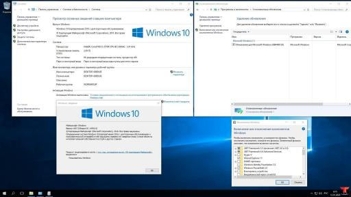 Windows 10 Enterprise 2016 LTSB 14393.0 Version 1607 2 DVD /x86-x64/ #2